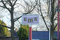VOETBAL: HARKEMA: Sportpark De Bosk, 27-04-2013, KNVB District Landelijk / Hoofdklasse C / Zaterdag, Harkemase Boys - ONS, Einduitslag 3-2, ©foto Martin de Jong