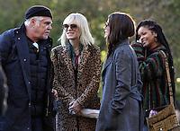 NEW YORK, NY November 07:Director Gary Ross, Sandra Bullock, Cate Blanchett, Rihanna, shooting on location for Ocean 8 in Central Park New York .November 07, 2016. Credit:RW/MediaPunch