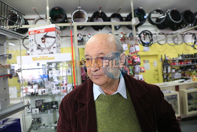 Founder Irio Tommassini still working at 84 and coming up with fresh ideas in the Tommasini factory based in Grosseto, Tuscany, Italy 6th March 2017.<br /> Picture: Eoin Clarke | Newsfile<br /> <br /> <br /> All photos usage must carry mandatory copyright credit (&copy; Newsfile | Eoin Clarke)