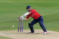James Foster in batting action for Essex during Kent Spitfires vs Essex Eagles, Royal London One-Day Cup Cricket at the St Lawrence Ground on 17th May 2017