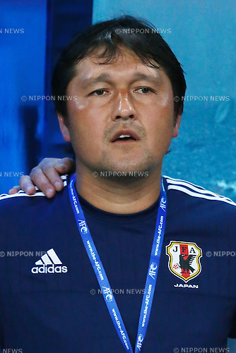 Tadahiro Akiba (JPN), MARCH 29, 2015 - Football / Soccer : AFC U-23 Championship 2016 Qualification Group I match between U-22 Japan 2-0 U-22 Vietnam at Shah Alam Stadium in Shah Alam, Malaysia. (Photo by Sho Tamura/AFLO SPORT)