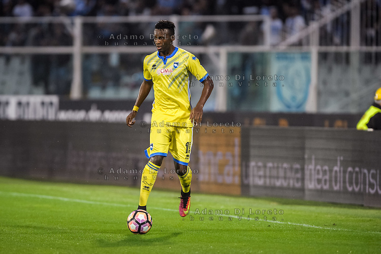 Bahebeck Jean-Christophe (Pescara) during the Italian Serie A football match Pescara vs Sampdoria on October 15, 2016, in Pescara, Italy. Photo Adamo Di Loreto/BuenaVista*photo