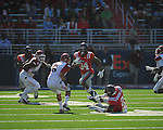 Ole Miss' Brandon Bolden (34) runs vs. Arkansas at Vaught-Hemingway Stadium in Oxford, Miss. on Saturday, October 22, 2011. .