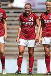 24 August 2014: Stanford's Alex Doll. The Duke University Blue Devils played the Stanford University Cardinal at Fetzer Field in Chapel Hill, NC in a 2014 NCAA Division I Women's Soccer match. Stanford won the game 2-0.