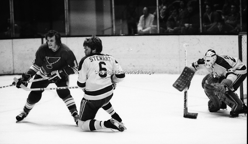 California Golden Seals vs St.Louis Blues 1972.<br />