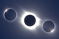 Total Solar Eclipse, Libya, composite.
