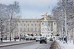Buckingham Palace snow
