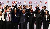 Inscripción Juan Manuel Santos en la registraduria 04-03-2014