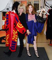 OCT 28 Joanna Lumley and Angela Scanlon launch Marks & Spencer's Little Shwop of Horrors