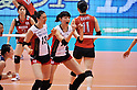#10 Kim Yeon-Koung (KOR),.MAY 23, 2012 - Volleyball : FIVB the Women's World Olympic Qualification Tournament for the London Olympics 2012, between Japan 1-3 Korea at Tokyo Metropolitan Gymnasium, Tokyo, Japan. (Photo by Jun Tsukida/AFLO SPORT) [0003].
