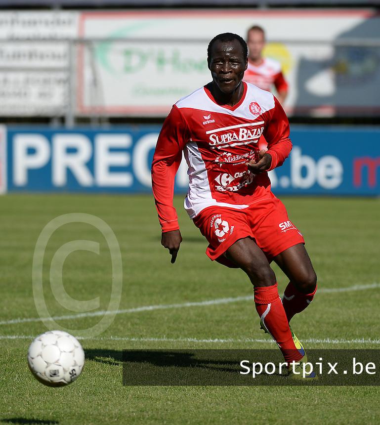 FC Gullegem :  Brice Ngah Noah<br /> Foto VDB / Bart Vandenbroucke