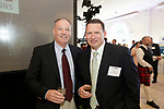 Southington, CT- 03 May 2017-050317CM14-  Social moments from left,  Waterbury firefighters, Michael O'Donnell and Patrick Maloney are photographed during a United Way of Greater Waterbury celebration at the Aqua Turf on Wednesday.         Christopher Massa Republican-American