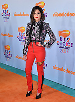 Actress Laura Marano at the Nickelodeon 2017 Kids' Choice Awards at the USC's Galen Centre, Los Angeles, USA 11 March  2017<br /> Picture: Paul Smith/Featureflash/SilverHub 0208 004 5359 sales@silverhubmedia.com