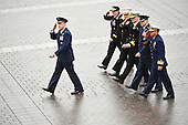 Senior military officers salute President Donald Trump during the 2017 Presidential Inauguration at the US Capitol in Washington, DC on January 20, 2017. <br /> Credit: Jack Gruber / Pool via CNP