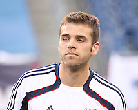 New England Revolution midfielder Michael Videira (19).  The New England Revolution drew FC Dallas 1-1, at Gillette Stadium on May 1, 2010