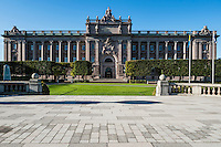 Riksdag - Swedish Parliment Building, Stockholm, Sweden
