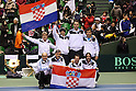 Croatia National Team Group (CRO), .February 12, 2012 - Tennis : .Davis Cup 2012, World Group 1st Round.at Bourbon Beans Dome, Hyogo, Japan. .(Photo by Daiju Kitamura/AFLO SPORT) [1045]