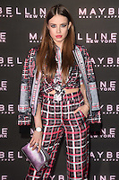 Xenia Tchoumitcheva at the Maybelline Bring on the Night party at The Scotch of St James, London, UK. <br /> 18 February  2017<br /> Picture: Steve Vas/Featureflash/SilverHub 0208 004 5359 sales@silverhubmedia.com