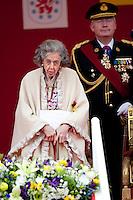 Queen Fabiola Of Belgium - National day