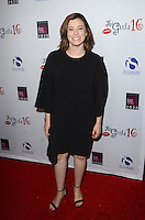 LOS ANGELES, CA - OCTOBER 16: Rachel Bloom at the National Breast Cancer Coalition Fund's 16th Annual Les Girls Cabaret at Avalon Hollywood on October 16, 2016 in Los Angeles, California. Credit: David Edwards/MediaPunch