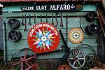 Costa Rica, Sarchi, Don Eloy Alfaro Oxcart Factory, 1920, Tool And Ironwork Display