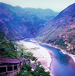 Lesser 3 Gorges Lookout, Yangtze River, China