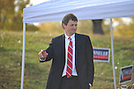 Mississippi Supreme Court candidate Josiah Coleman campaugns at the Oxford Conference Center in Oxford, Miss. on Tuesday, November 6, 2012. Coleman defeated Flip Phillips.