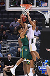 MILWAUKEE, WI - MARCH 16:  Purdue Boilermakers guard P.J. Thompson (11) and Vermont Catamounts guard Trae Bell-Haynes (2) fight for possession during the first half of the 2017 NCAA Men's Basketball Tournament held at BMO Harris Bradley Center on March 16, 2017 in Milwaukee, Wisconsin. (Photo by Jamie Schwaberow/NCAA Photos via Getty Images)