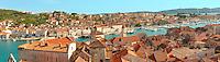 Rooftop view of  Trogir Croatia