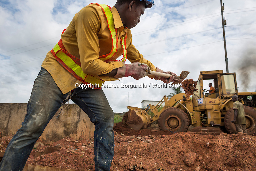 Nigeria, Enugu State, NEWMAP, World Bank Gully erosion