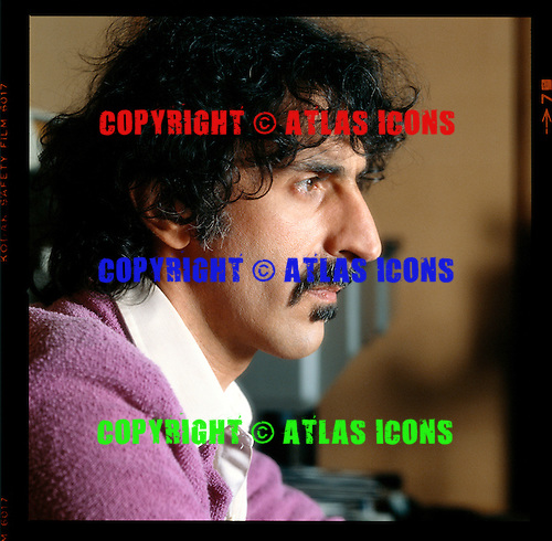 FRANK ZAPPA, JOHN LIVZEY,1981,1982 ASSORTED SESSION, CANDIDS AND LIVE