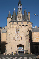 Porte Cailhau. Bordeaux city, Aquitaine, Gironde, France