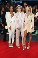 Stooshe at the Deepwater Horizon European Premiere at Cineworld Leicester Square, London on September 26th 2016<br /> CAP/ROS<br /> &copy;Steve Ross/Capital Pictures /MediaPunch ***NORTH AND SOUTH AMERICAS ONLY***
