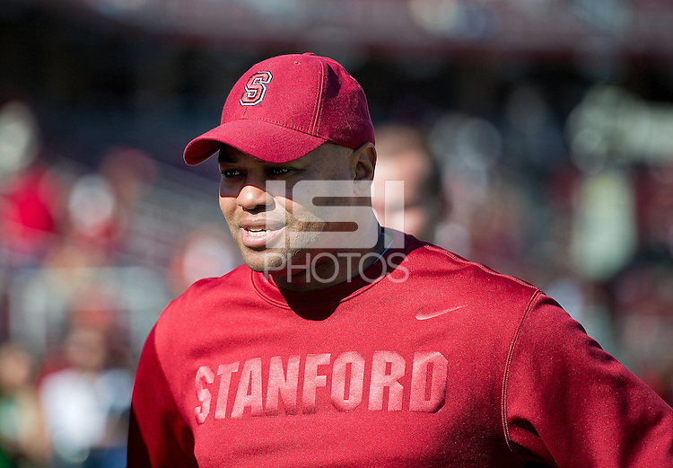STANFORD, CA - November 10, 2012: Stanford Cardinal vs the Oregon State Beavers at Stanford Stadium in Sanford, CA. Final score Stanford 27, Oregon State 23.
