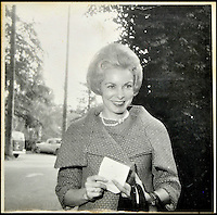BNPS.co.uk (01202 558833)<br /> Pic: DominicWinter/BNPS<br /> <br /> Janet Leigh.<br /> <br /> A remarkable set of 430 candid photographs of Hollywood royalty have been unearthed after 50 years.<br /> <br /> Included in the collection of unpublished pictures are snaps of silver screen icons Paul Newman, Charlie Chaplin, Bette Davis, Audrey Hepburn, and Dean Martin.<br /> <br /> Paul Newman is captured looking over his shoulder at the wheel of his car and Charlie Chaplin is pictured without his trademark moustache. <br /> <br /> Audrey Hepburn has posed with her then husband actor Mel Ferrer while Bette Davis can be seen puffing on a cigarette.<br /> <br /> The snaps were taken by obsessive amateur photographer Dwight 'Dodo' Romero from 1954 to 1967 who would hang around at Hollywood parking lots and other hang-outs to catch a glimpse of the stars.<br /> <br /> The photos, which more recently belonged to a book dealership in York, have emerged for auction and are tipped to sell for &pound;800.