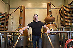 Keith Greggor, president and CEO of Anchor Brewers & Distillers at the distillery at the Anchor Steam brewery in San Francisco, Calif.