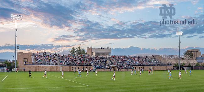 Sep. 20, 2014; First half of the Women's Soccer game against North Carolina at Alumni Stadium. (Photo by Matt Cashore/University of Notre Dame)