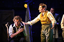 London, UK. 07.10.2015. English Touring Opera presents THE TALES OF HOFFMANN, at the Britten Theatre, Royal College of Music. Written by Jacques Offenbach, with libretto by Jules Barbier, this production is directed by James Bonas. Picture shows: Sam Furness, Matt R J Ward. Photograph © Jane Hobson.
