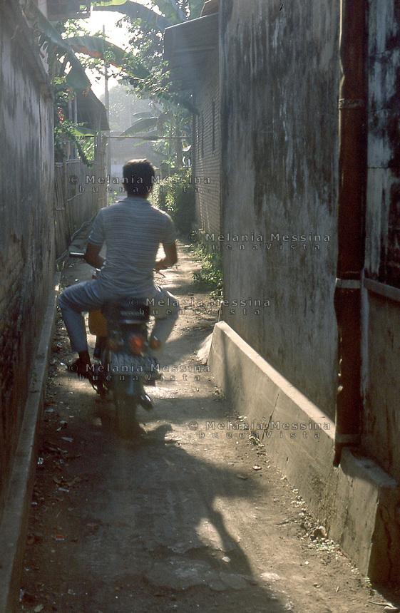 Indonesia; Java, Yogyakarta.<br /> Indonesia, Giava, Yogyakarta