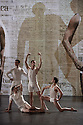 """London, UK. 05/12/11. """"Matthew Bourne's Christmas"""" is filmed at Ealing Studios. The show comprises extracts of ten of his finest works over his 25 year career. Picture shows an extract from """"Spitfire"""". Dancers are: Richard Winsor, Chris Marney, Simon Marney and Jonny Ollivier."""