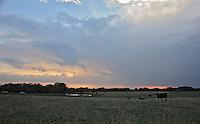 Caption 7<br /> Dusk falls on the McCloud farm, September 24, 2013.