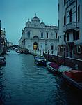 Twilight in Venice, Italy