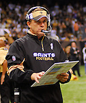 """FILE-FILE-File-Pictured is TE  Jeremy Shockey,88 , who denies being the leak to the NFL about the """"bounty system"""" in place at the SAints organization. Greg Williams, Defensive Coordiantor for the New Orleans Saintshas been suspended indefiently from the NFL  because of his """"bounty system"""" he had in place while coaching for the Saints during the 2009,2010 & 2011 NFL seasons. Coach Sean Payton was suspended for one year and General manager Micky Loomis was suspended for 8 games for thier roles in the """"Bounty scandal"""". File Photo of Defensive coach Greg Willams and coach Sean Payton coaching during the Saints pre season game against the San Diego Chargers Friday Aug 27,2010. The San Diego charges cut Drew Brees a few years ago, allowing him to be picked up by the Saints as a free agent. The Saints won 36-21 at half time.Photo© Suzi AltmanNew Orleans Saints head coach Sean Payton speaks to the media after beating the Atlanta Falcons and going 7-0.  fans celebrate after beating the Atlanta Falcons in the SuperDome 35-17. New Orleans Saints TE  Jermey Shockey (88) grtabs the ball for a reception and a first down during the game against the Atlanta Falcons in the first half of a NFL football game in the SuperDome in Louisiana, Monday, Nov.2, 2009. The saints went on to win 35 to 27 and remain undefeated in te NFC South. Photos©SuziAltman/SuziSnaps.com.NFL New Orleans Saints Head Coach Sean Payton is focused after  yelling at  Sideline Official Bill Schmitz (122)  while Sideline Referee Mike Weatherford (116) who warns him to get off the fieild after a controversial call by Refee Ed Hochuli (85) late in the second quater during the Saints game against the Misnnesota Vikings Monday night Oct.,6,2008 at the Superdome in New Orleans  Louisiana Monday Oct. 6, 2008. Refee Ed Hochuli (85) missed a call against the Vikings for grabbing the facemask of Saints RB Reggie Bush (25) and Bush fumbled the ball as a result of the face mask. (Photo/©SuziAltman) ALL IMAGES ©SUZI ALTMAN. IMA"""