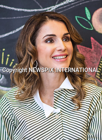 13.03.2017; Amman, Jordan: QUEEN RANIA<br />visited the Design Institute Amman (DIA) in support of Jordan&rsquo;s design industry on Monday, and met with some of the designers enrolled in its courses and workshops.<br />Mandatory Photo Credit: &copy;Royal Hashemite Court/NEWSPIX INTERNATIONAL<br /><br />PHOTO CREDIT MANDATORY!!: NEWSPIX INTERNATIONAL(Failure to credit will incur a surcharge of 100% of reproduction fees)<br /><br />IMMEDIATE CONFIRMATION OF USAGE REQUIRED:<br />Newspix International, 31 Chinnery Hill, Bishop's Stortford, ENGLAND CM23 3PS<br />Tel:+441279 324672  ; Fax: +441279656877<br />Mobile:  0777568 1153<br />e-mail: info@newspixinternational.co.uk<br />&ldquo;All Fees Payable To Newspix International&rdquo;