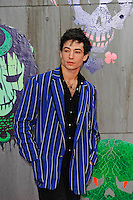 LONDON, ENGLAND - AUGUST 3: Ezra Miller attending the 'Suicide Squad' European Premiere at Odeon Cinema, Leicester Square on August 3, 2016 in London, England.<br /> CAP/MAR<br /> &copy;MAR/Capital Pictures /MediaPunch ***NORTH AND SOUTH AMERICAS ONLY***