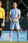 28 August 2015: North Carolina's Alex Comsia (CAN). The University of North Carolina Tar Heels hosted the Florida International University Panthers at Fetzer Field in Chapel Hill, NC in a 2015 NCAA Division I Men's Soccer match. North Carolina won the game 1-0