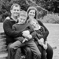 de Blank Family Portraits | San Francisco Botanical Garden Golden Gate Park