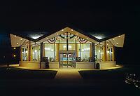 Surfside Restaurant, Wildwood,NJ. Night Exterior - 1969