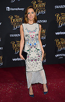 Aubrey Plaza at the premiere for Disney's &quot;Beauty and the Beast&quot; at El Capitan Theatre, Hollywood. Los Angeles, USA 02 March  2017<br /> Picture: Paul Smith/Featureflash/SilverHub 0208 004 5359 sales@silverhubmedia.com