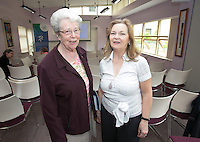 ***NO FEE PIC ***<br /> 11/06/2014<br /> (L to R) Helena O Donoghue &amp; Marianne Beasley during The Mercy Law Resource Centre's Annual Report for 2013 at Sophia Housing on Cork Street, Dublin.<br /> Photo:  Gareth Chaney Collins